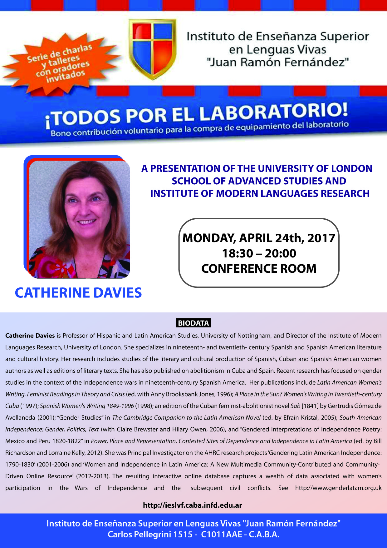 1. Catherine Davies_24 de abril_salon de conferencias