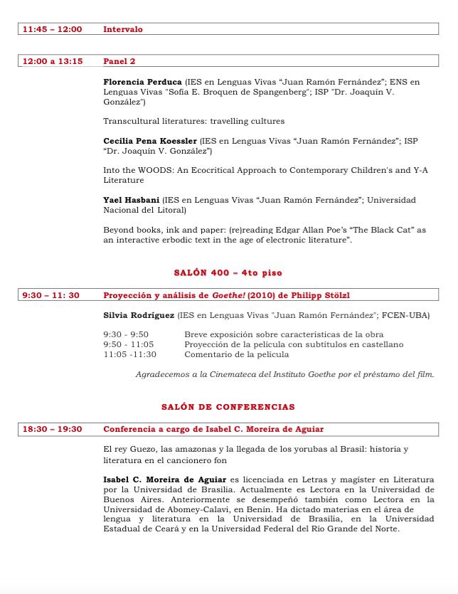 PRE JORNADAS DE LITERATURA Y MEDIOS (2)