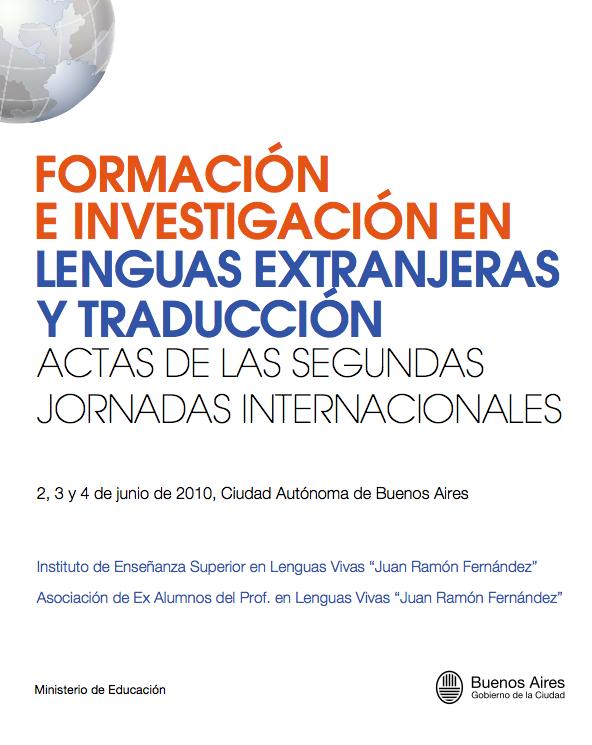 FORMACION E INVESTIGACION EN LENGUAS EXTRANJERAS Y TRADUCCION