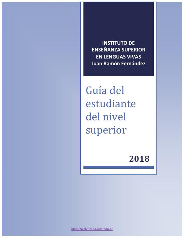 Guía estudiante 2018