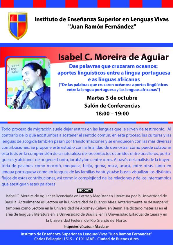 Moreira de Aguiar_charla